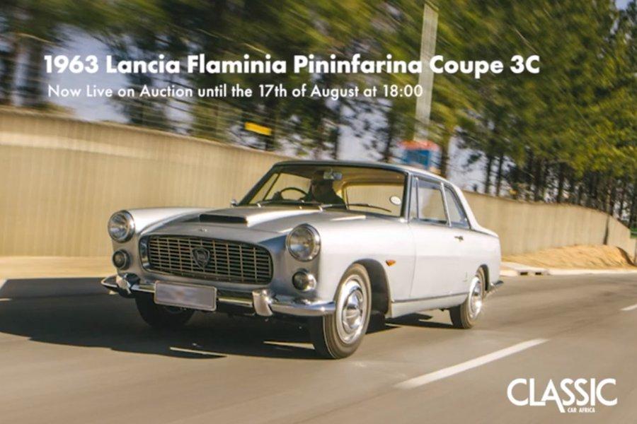 Live Online Auction: 1963 Lancia Flaminia Pininfarina Coupe 3C