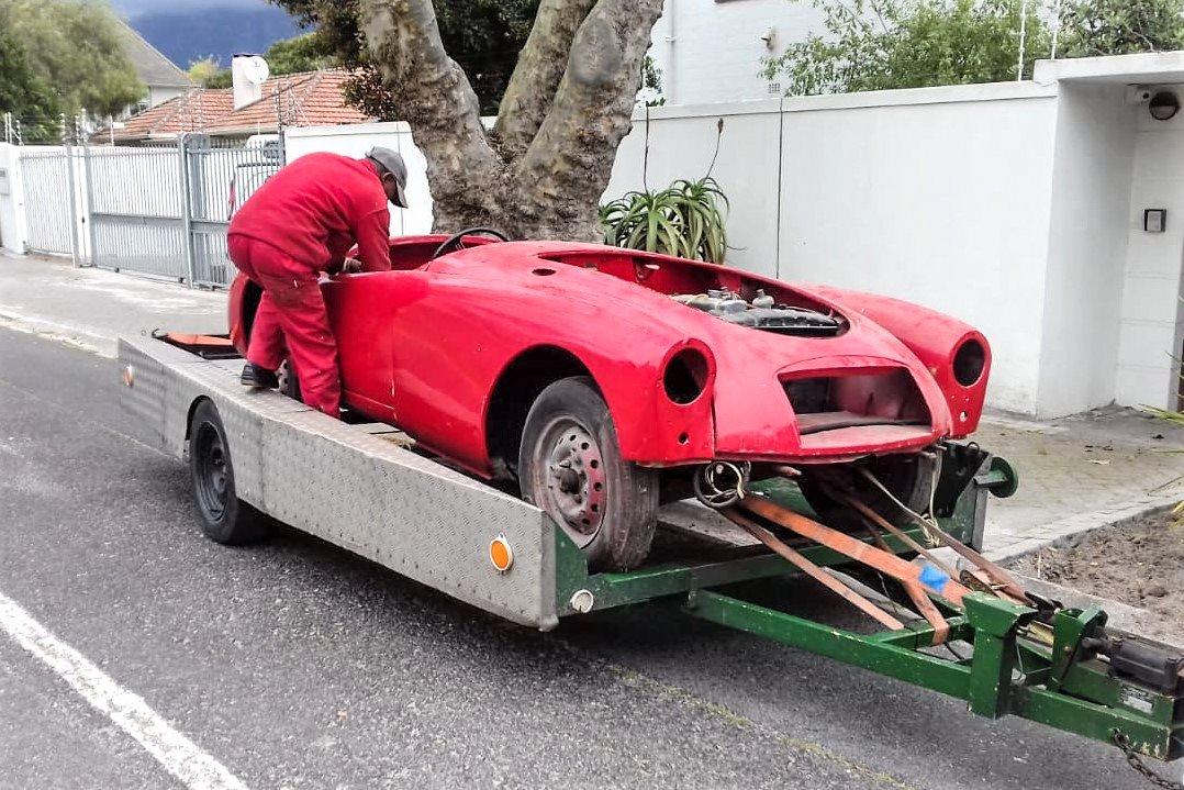 MGA Roadster project