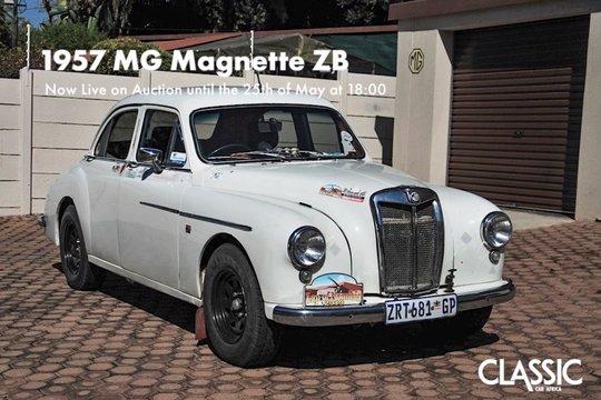 For sale: 1957 MG Magnette ZB
