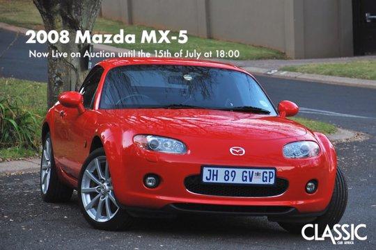 Sold: 2008 Mazda MX-5 (folding hardtop)