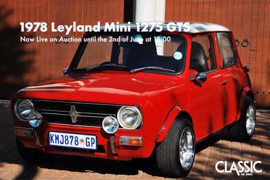 SOLD: 1978 Leyland Mini 1275 GTS