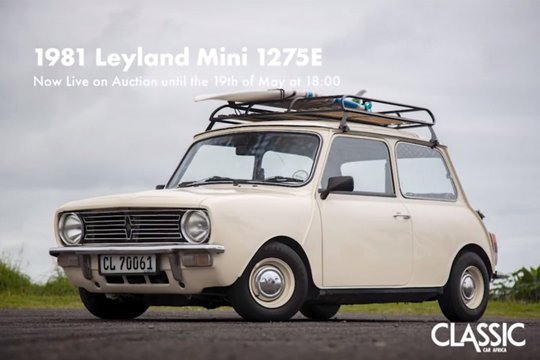 For sale: 1981 Mini 1275E