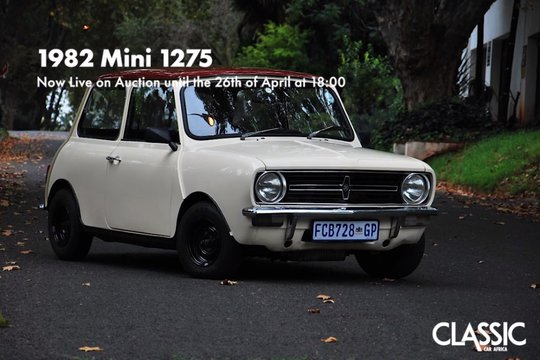 Live Online Auction: 1982 Mini 1275E