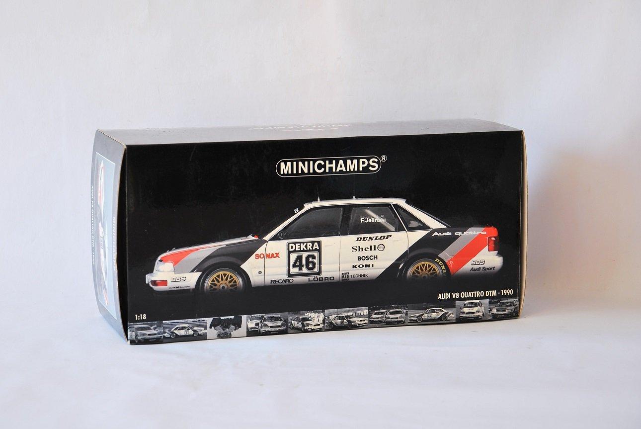 Minichamps 1:18 Audi V8 Quattro DTM Model - F. Jelinski