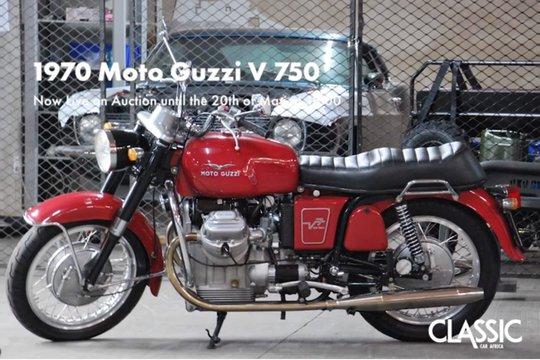 Sold: 1970 Moto Guzzi V 750
