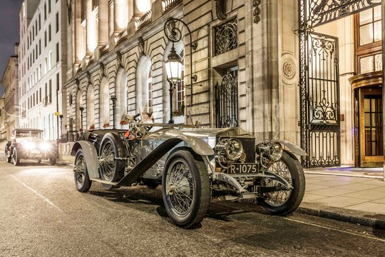 ROLLS-ROYCE SILVER GHOST REPEATS HISTORY