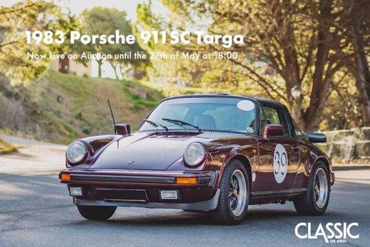 For sale: 1983 Porsche 911 SC