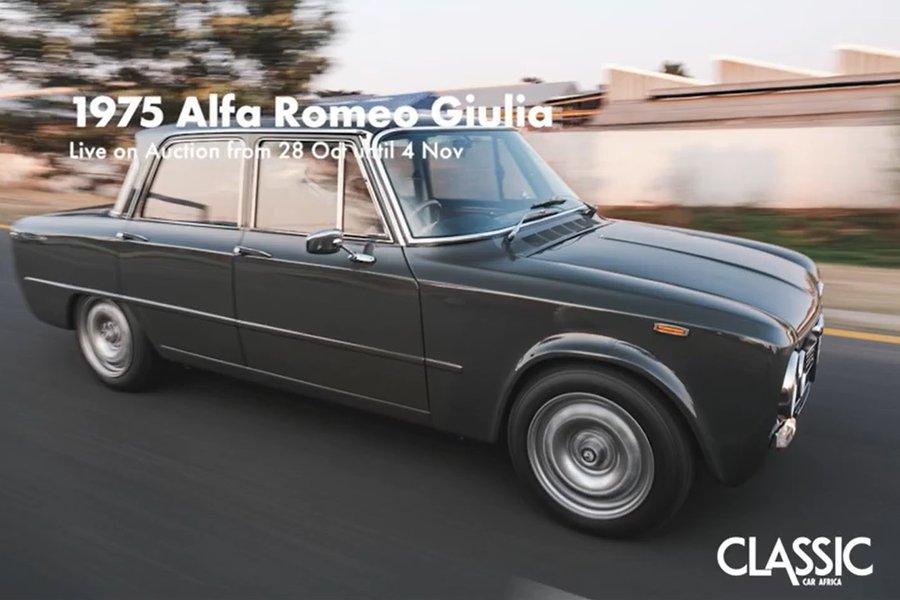 Coming Soon: 1975 Alfa Romeo Giulia