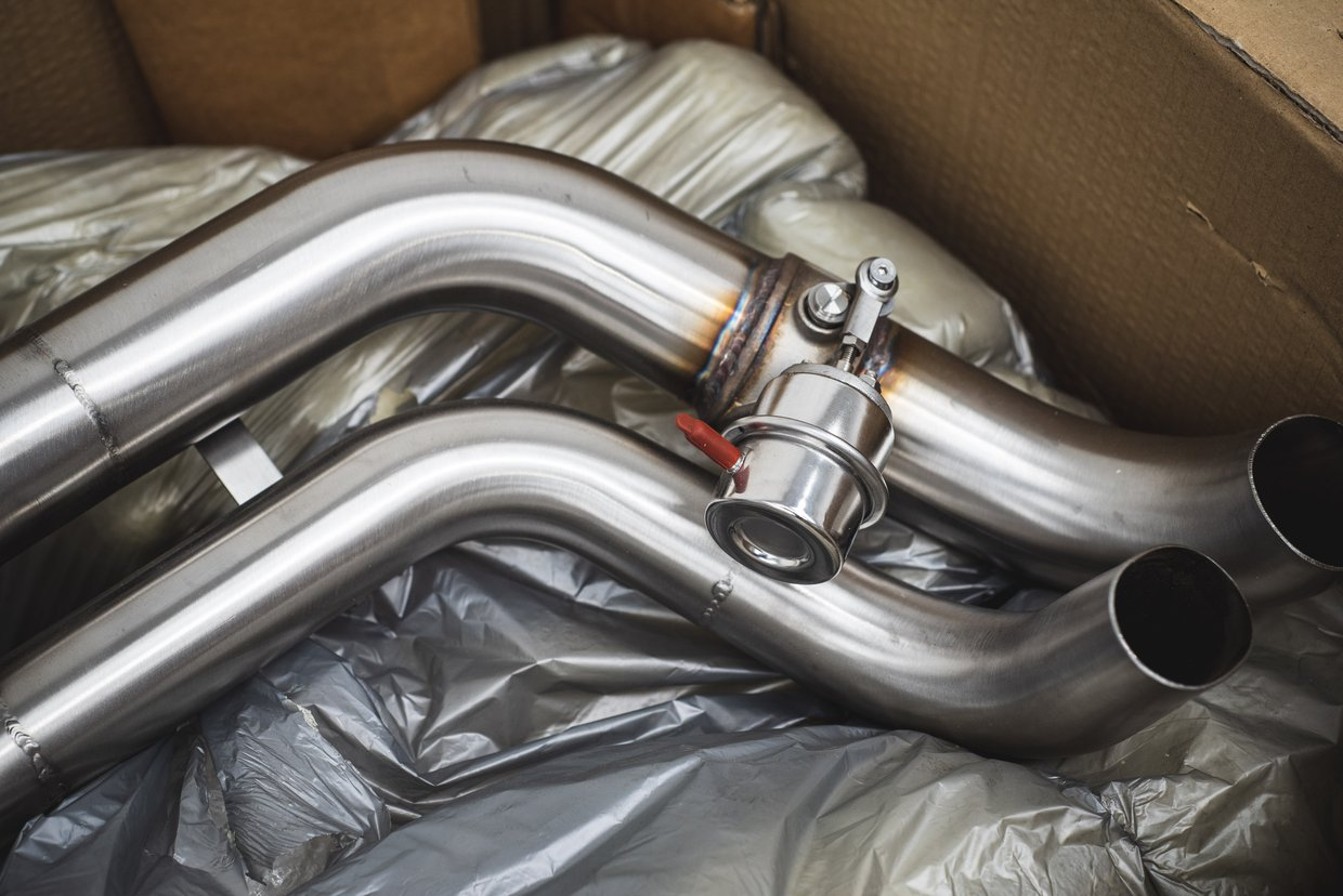 Quicksilver sports exhaust system - Audi R8 V10 plus