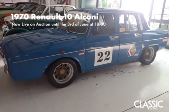 SOLD: 1970 Renault 10 Alconi