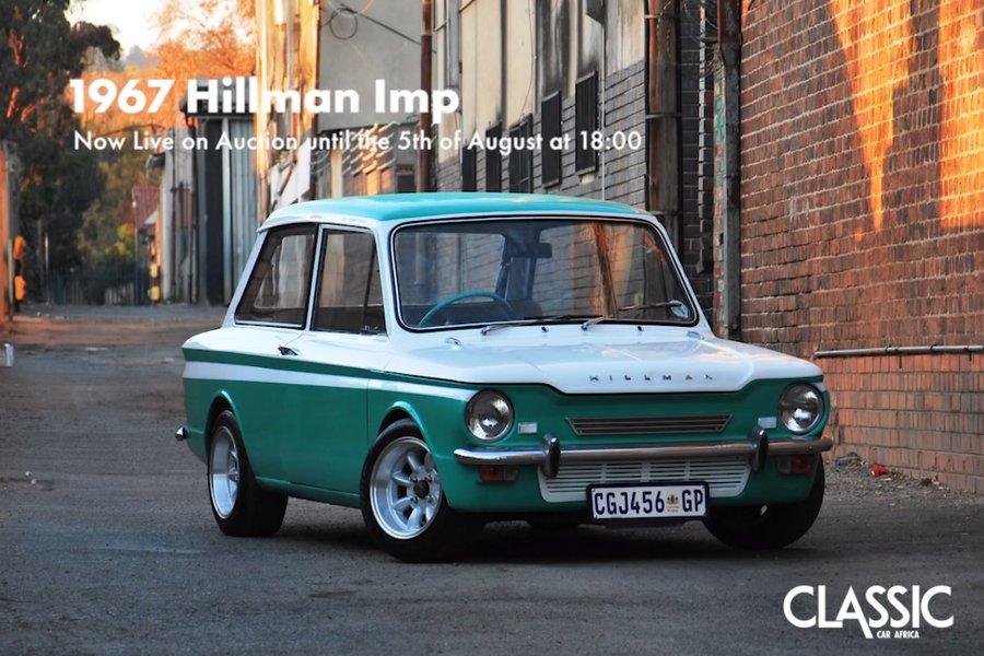 For Sale: 1967 Hillman Imp