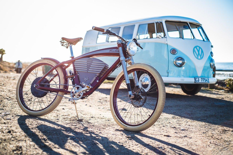 Vintage Electric Tracker e-bike