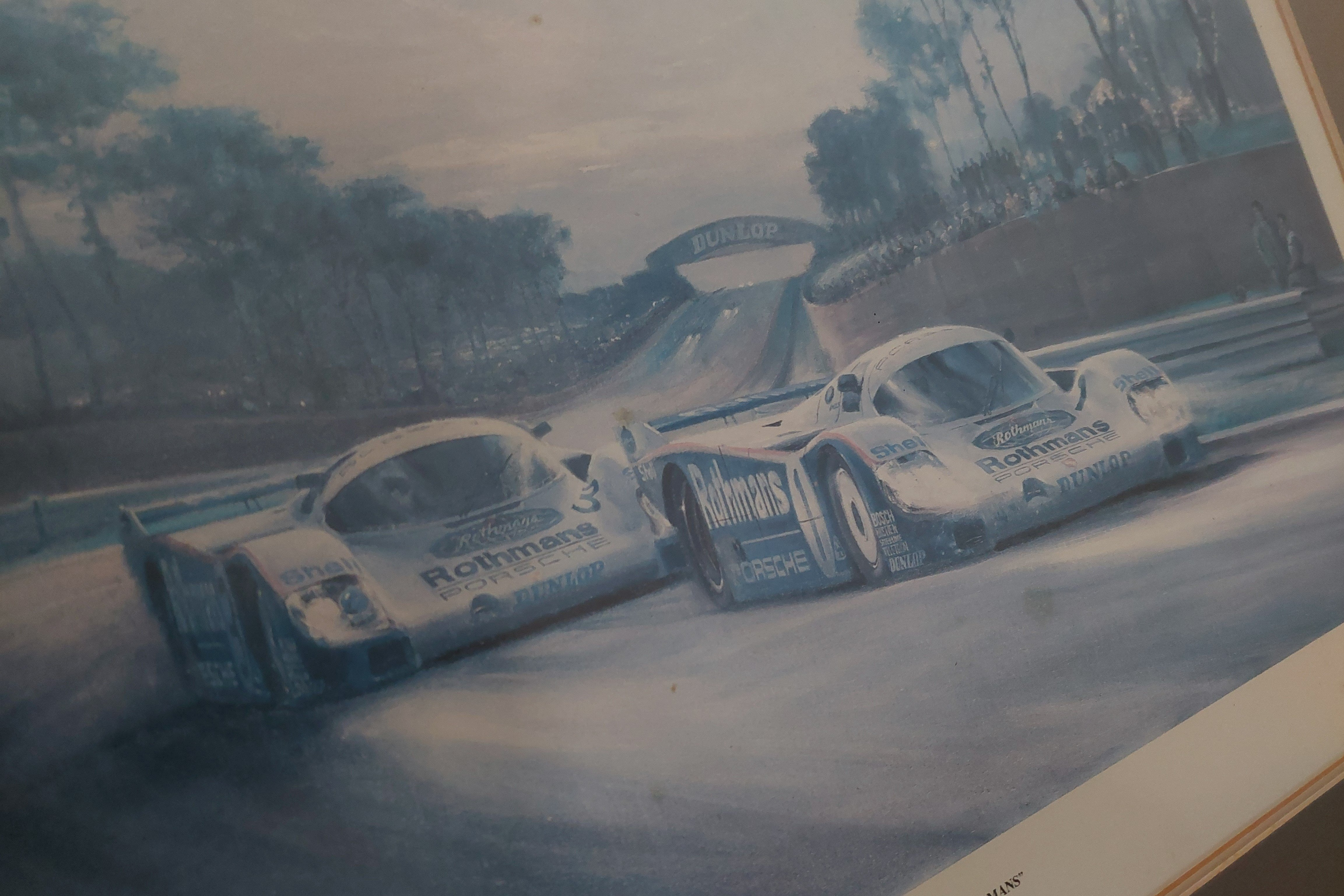 Sunset at Le Mans Painting