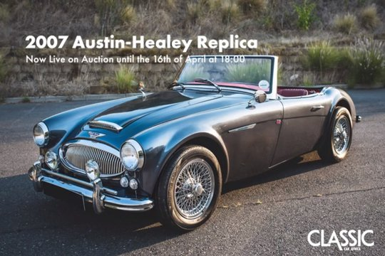 Live On Auction: 2007 Austin-Healey Replica