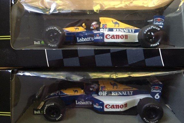 Four Onyx F1 Grand Prix models