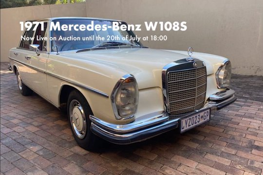 FOR SALE: 1971 Mercedes-Benz 280S